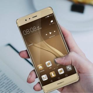 Ersatzdisplay Huawei P9 kompatibel, Scheibe vormontiert - Gold - Vorschau 3