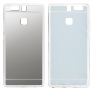 Unverbrüchliche Schutzhülle mit Spiegeleffekt für Huawei P9 - Silber - Vorschau 2