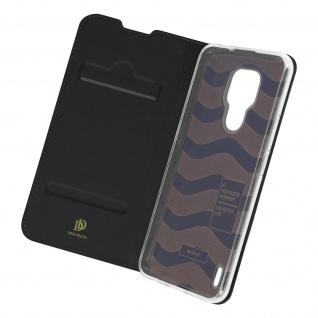 Klappetui mit Kartenfach & Standfunktion Motorola Moto E7 ? Schwarz