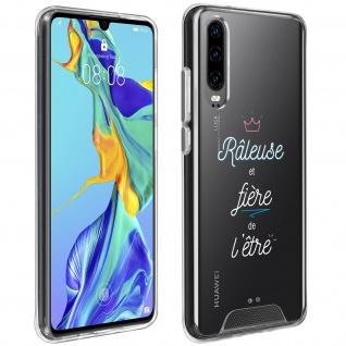 """Handyhülle für Huawei P30, Made in France ? """" Râleuse"""" Design"""