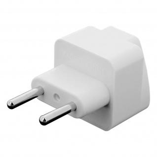 Multi-Adapter Großbritannien, Amerika, Karibik auf Typ C Steckdose - Weiß