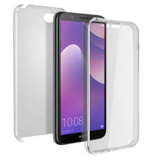 Schutzhülle für Huawei Y5 2018/Honor 7S, Vorder- + Rückseite ? Ultra Clear