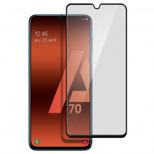 9H Härtegrad kratzfeste Glas-Displayschutzfolie für Galaxy A70 - Schwarz - Vorschau 2