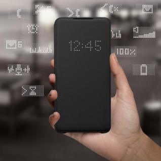 Original Samsung LED-View Cover + Kartenfach Samsung Galaxy S20 Plus - Schwarz - Vorschau 3
