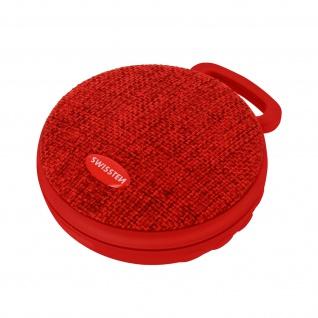 Tragbarer Bluetooth-Lautsprecher, Micro SD-Player, Swissten X-Style ? Rot