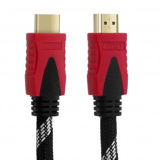 HDMI auf HDMI Videokabel Stecker 4K Full HD High Speed 15m LinQ Schwarz