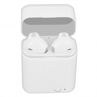 Kabelloses Bluetooth 5.0-Headset, 12 Stunden Akkulaufzeit, Akashi ? Weiß