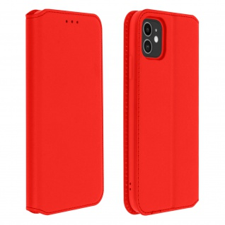 Kunstleder Cover Classic Edition Apple iPhone 11 - Rot