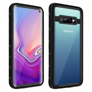 Redpepper Waterproof Handyhülle für Samsung Galaxy S10 - Schwarz