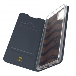 Klappetui mit Kartenfach & Standfunktion Samsung Galaxy A12 ? Dunkelblau