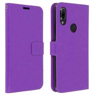 Flip Stand Cover Brieftasche & Standfunktion für Xiaomi Redmi 7 - Violett