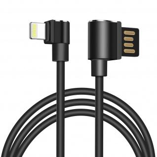 Hoco 1.2m Lightning Kabel mit USB-Stecker und Quick Charge Sync ? Schwarz - Vorschau 1