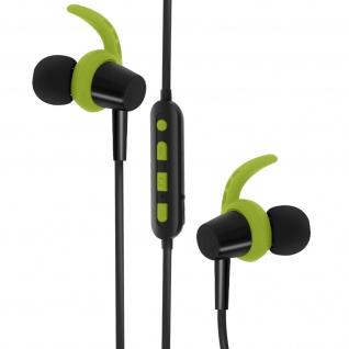 4Sport BSH-400 Bluetooth Kopfhörer, Magnetische Kopfhörer, Forever ? Grün