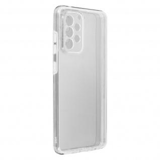 Schutzhülle für Samsung Galaxy A52, Vorder- + Rückseite ? Transparent