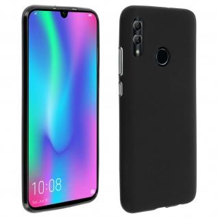 Gelhülle, flexibles Backcover für Huawei P Smart 2019, Honor 10 Lite - Schwarz
