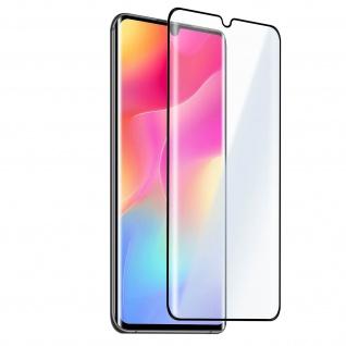 Xiaomi Mi Note 10 Lite 9H Glas-Schutzfolie - Rand Schwarz