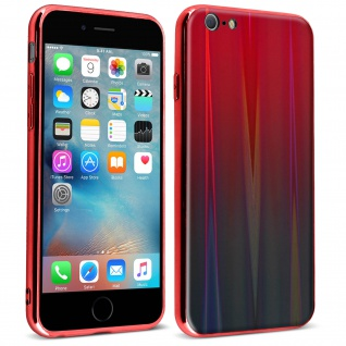 Aurora Series holografische Handyhülle Apple iPhone 6/ 6S - Rot