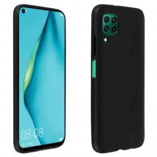Schutzhülle aus Silikon, schwarze Gelhülle für Huawei P40 Lite