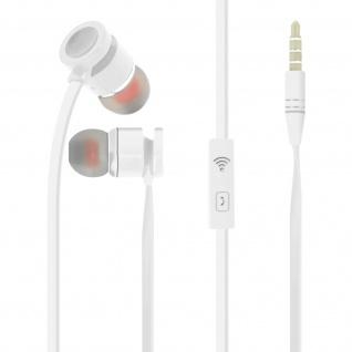 Kabelgebundene Kopfhörer 3.5mm Klinkenstecker, Kabel 1, 2 m Inkax ? Weiß