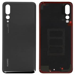 Ersatzteil Akkudeckel, neue Rückseite für Huawei P20 Pro - Schwarz