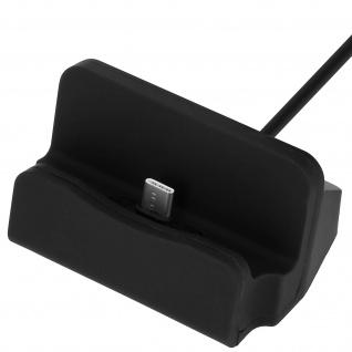 Ladestation Aufladen & Synchronisierung mit USB-Typ C Anschluss - Schwarz - Vorschau 4