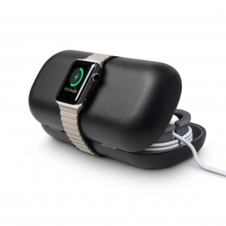 Twelve South TimePorter Apple Watch Zubehör, Reisetasche + Ladestation - Schwarz