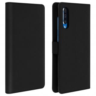 DZgogo Klappetui mit Kartenfach & Standfunktion Samsung Galaxy A50 Schwarz