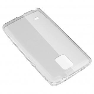 Samsung Galaxy Note 4 Schutz-Set - transparente Hülle + Glas-Displayschutzfolie