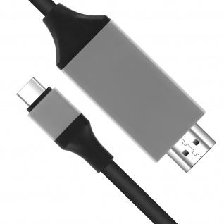 USB-C auf HDMI- Kabel Samsung Galaxy S8 - Adapter 2m - Vorschau 3