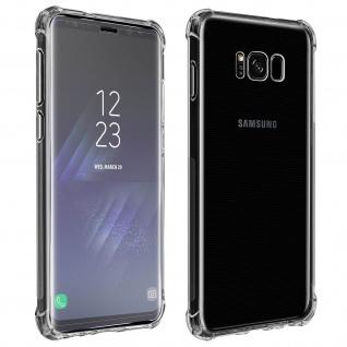 Premium Schutz-Set Samsung Galaxy S8 Schutzhülle + Schutzfolie - Transparent