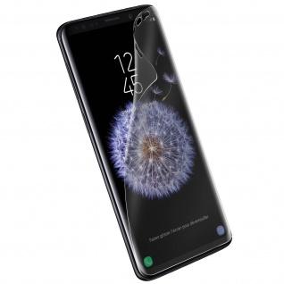 Forcell Full Schutz Latex Schutzfolie für Samsung Galaxy S9 Plus - Transparent