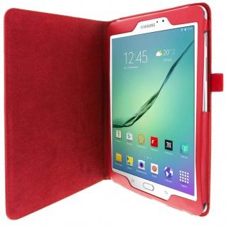 Flip-Schutzhülle mit Standfunktion für Samsung Galaxy Tab S2 9, 7'' - Rot