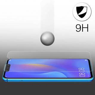 Displayschutzfolie aus Glas Huawei M20 Lite/P Smart Plus - 9H Härtegrad - Vorschau 3
