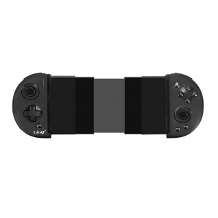 Verstellbarer Bluetooth-Gamecontroller Smartphone Akkulaufzeit 6h LinQ Schwarz