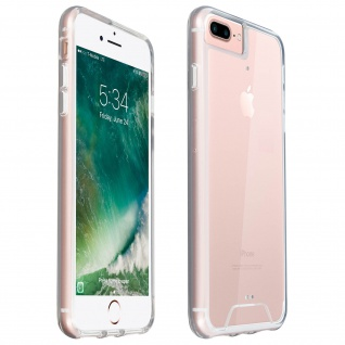 Cristal Hybrid Schutzhülle für iPhone 6 Plus/6S Plus/7 Plus/8 Plus - Transparent