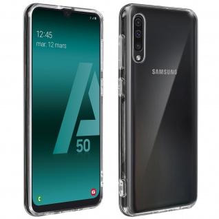 Crystal Schutzhülle + Bumper cover für Samsung Galaxy A50 - Transparent