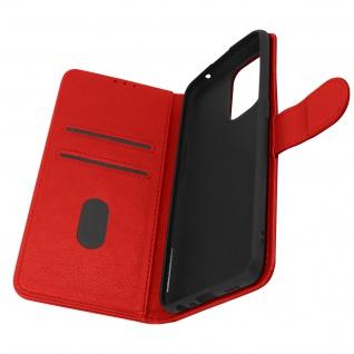 Klappetui mit Geldbörse, Kunstlederhülle für Oppo A94 5G ? Rot