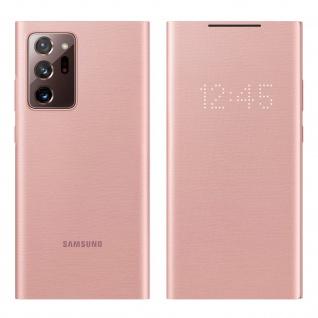 Original Samsung LED-View Cover + Kartenfach Galaxy Note 20 Ultra � Rosegold
