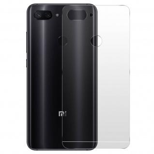 Imak Xiaomi Mi 8 Lite flexible Schutzfolien, kratzfeste Rückschutzfolien
