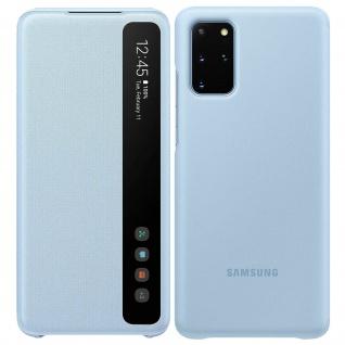 Original Samsung Clear View Cover, Klapphülle für Galaxy S20 Plus - Hellblau - Vorschau 1
