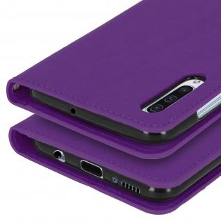 Flip Stand Cover Brieftasche & Standfunktion für Samsung Galaxy A50 - Violett - Vorschau 5