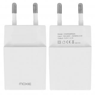 Moxie Universal Wand Ladegerät USB 2.1A - Mit Schnellladefunktion
