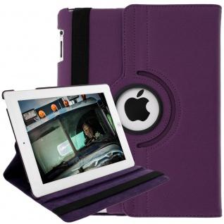Flip-Cover für Apple iPad 2, 3, 4 und iPad Retina mit Standfunktion ? Violett