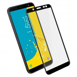 Displayschutzfolie, 9H 11D Schutzfolie für Samsung Galaxy J6 Schwarz