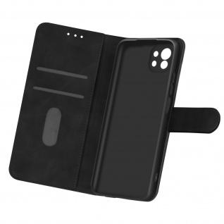 Flip Cover Geldbörse, Etui Kunstleder für Xiaomi Mi 11 5G ? Schwarz