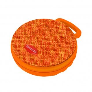 Tragbarer Bluetooth-Lautsprecher, Micro SD-Player, Swissten X-Style ? Orange
