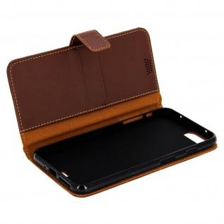 Flip-Schutzhülle mit Standfunktion für Apple iPhone 7 Plus, 8 Plus - Braun