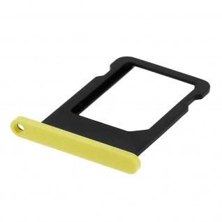 Nano-Sim-Ersatz-Kartenhalter für Apple iPhone 5C - Gelb - Vorschau 3