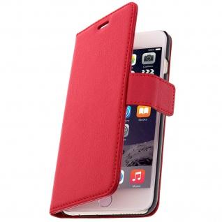 Flip-Schutzhülle mit Standfunktion für Apple iPhone 6 Plus/ iPhone 6s Plus - Rot