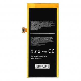 Austausch-Akku für Huawei P8 Lite, HB3742A0EZC+ Zusatzakku 2200mAh - Schwarz